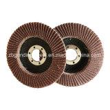 """4 """" T27 disco abrasivo durevole della falda della granulosità 100# a/O per il polacco del metallo"""