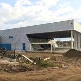 プレハブの鋼鉄研修会の鋼鉄倉庫のための鉄骨構造の建物