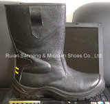 세륨 Certificate (SN1358)를 가진 까만 Leather Upper Safety Rigger Boot
