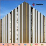 Matériau de construction intérieur extérieur de panneau composé en aluminium