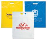 Gestempelschnittene Griff-Geschenk-Plastiktasche