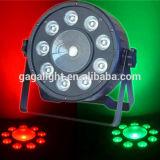 Os PCS 9*9W 3NO1+1PCS COB China RGB LED PAR/ Alto Brilho COB luz PAR LED