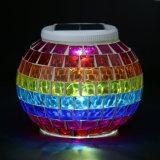 2019 Multicolors sol mur solaire Lanterne ronde Décoration coloré Voyant de lampe