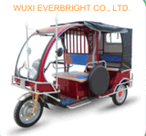 حارّ عمليّة بيع [60ف] [1000و] تاكسي ثلاثة عجلة كهربائيّة [ريكشو] درّاجة ثلاثية