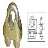 Brides de clips de corde de fil d'acier/câble métallique pour le matériel de calage
