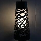 Gaststätte Graueisen, das hängende Lampe mit Glasstahldiffuser (zerstäuber) aushöhlt