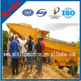 Popular 100t de oro aluvial de la separación de la minería Trommel