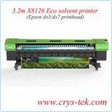 3,2 м экологически чистых растворителей с 2 принтера Epson Dx7 головки блока цилиндров
