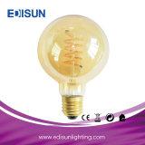 7W 810lm A60 E27 nova espiral filamento da lâmpada da luz da lâmpada LED