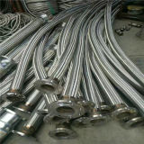 Acciaio inossidabile ondulato del tubo flessibile del metallo flessibile da 4 pollici con il rinforzo d'acciaio Braided