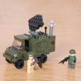 695600019A-Tanks Puzzle para segurar Bloquear brinquedos de bloco