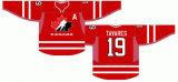 Canadá 2006/2009/2010 Home e camisolas de hóquei no gelo de Estrada