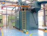Tipo Mororail Granalhagem máquina de limpeza/Equipamentos