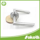 熱い販売法の現代ステンレス鋼のドアのレバー、ドアハンドルSs304
