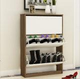 Cabina barata del estante del zapato de los muebles del ahorro de espacio del estilo de Morden
