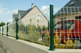 Panneau de revêtement en PVC double clôture pour le jardin et de la route