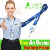 Kundenspezifische Polyester-Stickerei/Jacquardwebstuhl/gesponnen für Handy