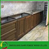 La meilleure qualité chinois de meubles de cuisine porte armoire en bois massif (DFW-D181002)