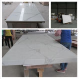 Weiß/Grey Artificial Quartz Stone für Kitchen u. Bathroom Countertop/Vanity Top/Slab/Tiles