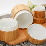 Protezione di bambù o di legno con il vaso della crema di stampa di trasferimento dell'acqua