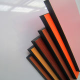 Woodgrainカラーボードのための積層の樹脂シート