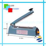 200mm la máquina de sellado al calor de impulso de hierro para Kfaft Sellador de mano de plástico