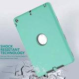 Choquer-Absorption caisse de tablette de défenseur d'armure de trois couches pour l'iPad