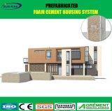 Casa prefabricada del cemento incombustible de la espuma del nivel de la estructura de acero A1