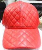 La commande à façon matérielle en cuir folâtre le chapeau