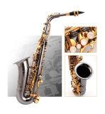 In het groot Muzikaal Instrument --De Saxofoon van de alt zoals Selmer
