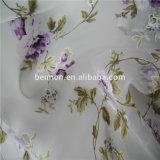 &Burn вне Tulle Organza Fabric Printed цветка