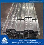 Farbe gewelltes Metall galvanisiertes Stahlfußbodendecking-Blatt