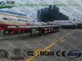 40FT Flachbett-Versandbehälter-halb LKW-Schlussteil für Verkauf