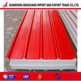 屋根ふき材料のPPGI/PPGLによって電流を通される鋼板