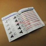 Impression bon marché de livret explicatif de brochure de livre de catalogue