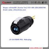 De waterdichte Optische Schakelaar van de Vezel van de Vezeloptische Kabel Connector/LC