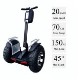 4000W Brushless off Road 2 Wheel Self Balancing Scooter with APP