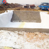 Barreiras geossintéticas Camisa de argila Gcl agem como uma baixa permeabilidade a Camisa