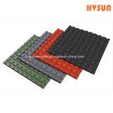 Ungiftige blockierende Shockproof materielle Gummifußboden-Puzzlespiele mit bunten EPDM Flecken