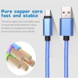 USB 3.1 tipo C de Nylon tipo macho teje un cable de carga USB USB 3.0