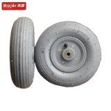 Rotella solida della gomma piuma dell'unità di elaborazione della rotella 2.50-4 della gomma di gomma piuma dell'unità di elaborazione della gomma libera piana
