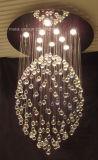 Phineのよい水晶装飾的で大きい現代天井灯