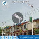 Alle in einem Solargarten, der Solar-LED-Straßenlaternebeleuchtet