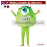 Mike Wazowski Fancy Dress Costumes Mens Décoration de vacances (COS8083)