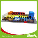 شعبيّة 30 قدم آمنة صغيرة مستطيلة داخليّة لعبة أرض [ترمبولين] مع انحدار [ترمبولين]
