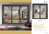 80-75 reeks van het Aluminium die Binnenlandse Deur voor Villa glijden