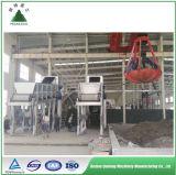Impianto di cernita comunale dei rifiuti solidi di Msw dell'immondizia della città per riciclare