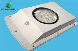 IP65 imperméabilisent 6W DEL toute dans une lumière solaire intégrée de jardin (SNSTY-206)