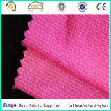 Tessuto libero del PVC di tono cationico del filato due di Oxford FDY Ripstop