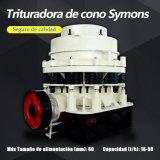 Machacamiento de la piedra caliza de la trituradora del cono de Symons de 4.25 pies